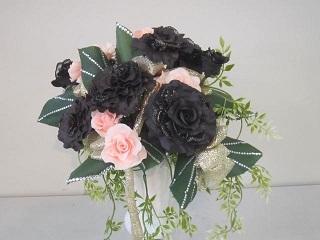 アート・黒いバラ.JPG