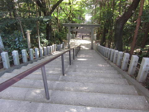 多度神社・石段53段.JPG