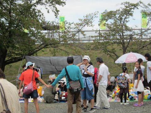 市民祭フリーマーケット.JPG