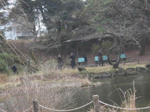 森林・池カメラマン.JPG