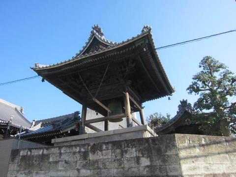 法雲寺・鐘楼1.JPG