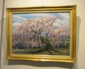 絵画・桜.JPG
