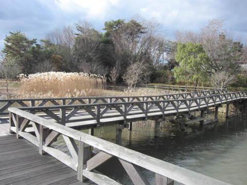 維摩池・橋.JPG